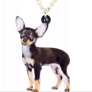 Chihuahua necklace NIP